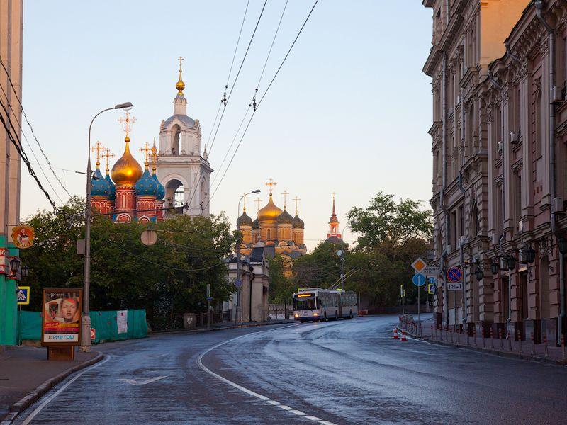 Экскурсия: Приятно познакомиться, Москва!