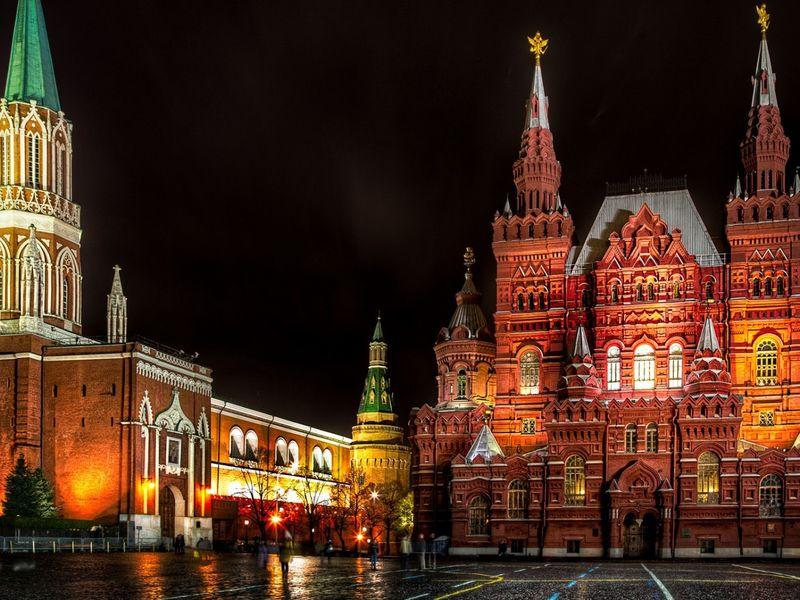 Экскурсия: Огни Москвы: классическая обзорная