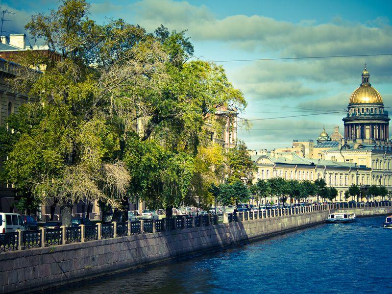Классическая обзорная экскурсия на автобусе по Санкт-Петербургу