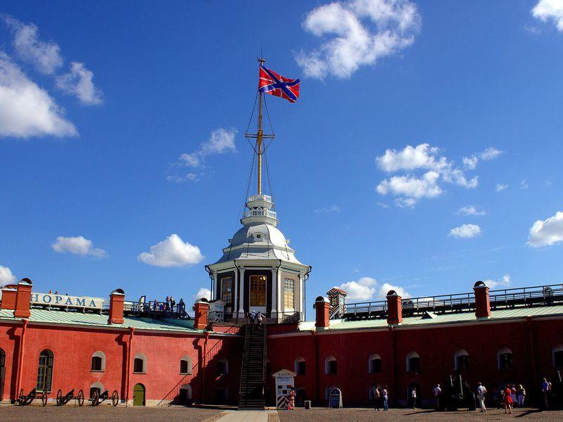 Большая обзорная экскурсия с посещением Петропавловской крепости